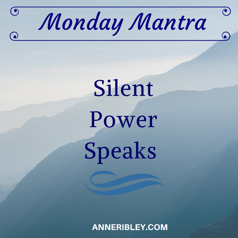 Silent Power Speaks Mantra